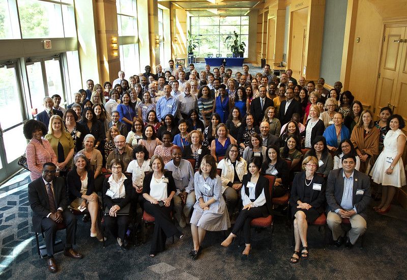 Group photo of Diversity program consortium members at the 2019 Annual Conference in Bethesda, Maryland