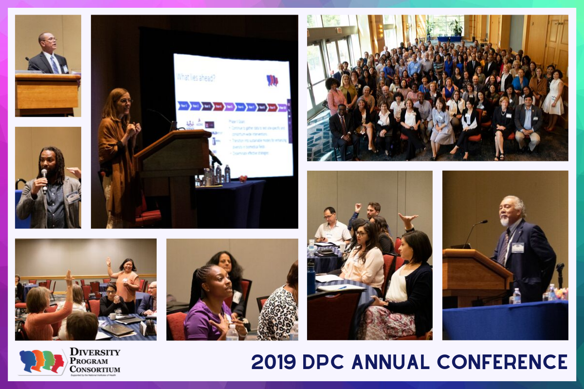 Collage of photos taken at the 2019 DPC Annual Conference